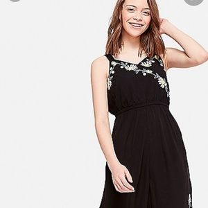 Floral Embroidered girl Justice jumpsuit